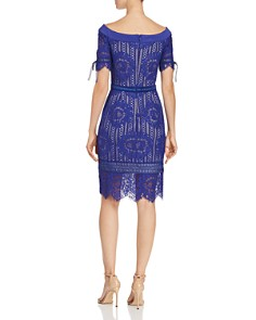 Tadashi Petites - Off-the-Shoulder Lace Dress
