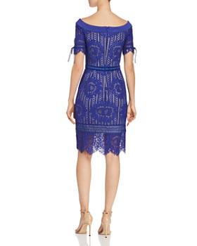 Tadashi Petites - Off-the-Shoulder Lace Dress