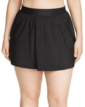 Miraclesuit Plus Solid Swim Skirt