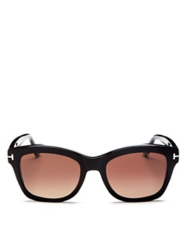 Tom Ford - Women's Lauren Polarized Square Sunglasses, 52mm
