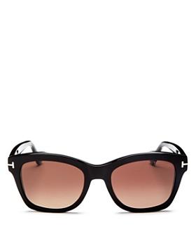 Tom Ford - Women's Lauren Polarized Square Sunglasses, 52mm