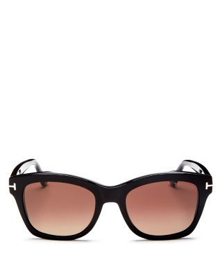 Women's Lauren Polarized Square Sunglasses, 52mm by Tom Ford