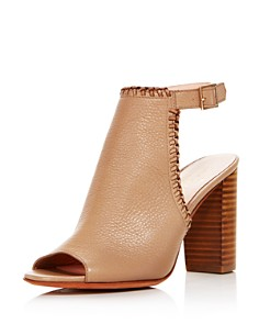 kate spade new york - Women's Orelene Leather High-Heel Booties