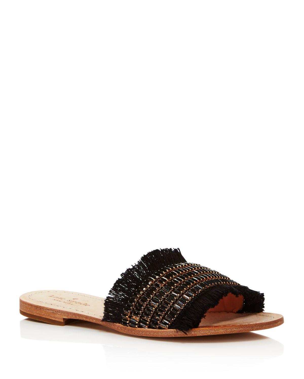 Kate Spade New York Women's Solaina Embellished Slide Sandals