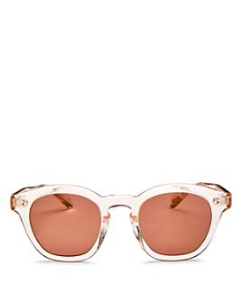 Oliver Peoples - Women's Bourdreau L.A. Square Sunglasses, 48mm
