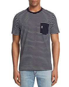 Psycho Bunny Striped Pocket Tee - 100% Exclusive - Bloomingdale's_0