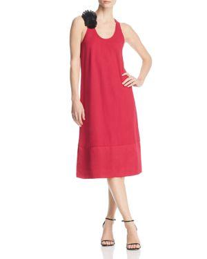 Kenneth Cole Fringe Flower Midi Dress 2991007