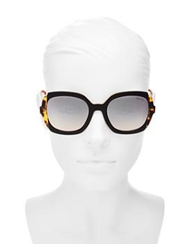 Prada - Women's Eiquette Mirrored Square Sunglasses, 54mm