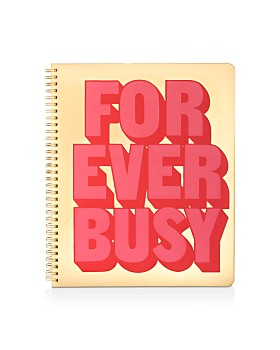 ban.do - Forever Busy Large Notebook