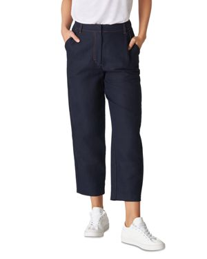 Whistles Toria Tapered Crop Pants