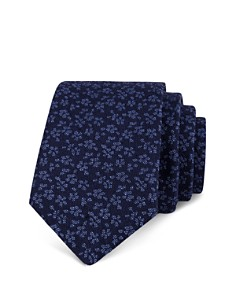 Ted Baker Small Flowers Skinny Tie - Bloomingdale's_0