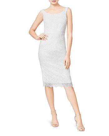 Betsey Johnson - Lace Sheath Dress