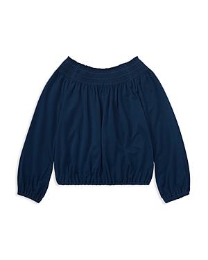 Polo Ralph Lauren Girls Shirred Jersey Top  Little Kid