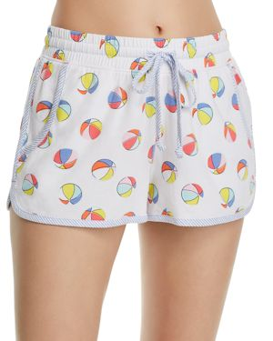 JANE & BLEECKER NEW YORK BEACH BALL PJ SHORTS