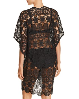Echo - Shell Lace Swim Cover-Up