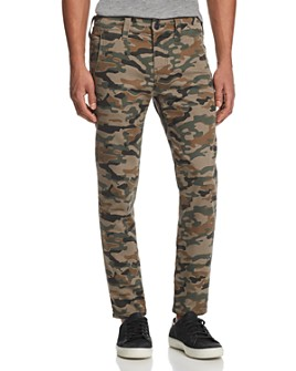 True Religion - Finn Runner Camouflage Regular Fit Pants