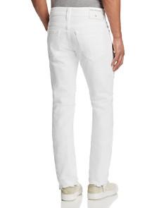 True Religion - Rocco Slim Fit Jeans in White Volcanic Ash