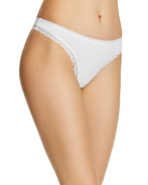 ON GOSSAMER CABANA COTTON HIP G-STRING
