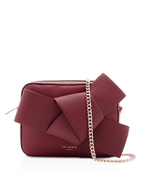Ted Baker - Giant Knot Leather Camera Crossbody