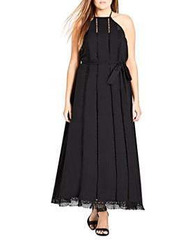 1d8d5ec5c7e City Chic Plus - Divine Weekend Halter Maxi Dress ...