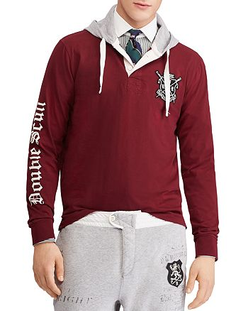 28bf76fa585 Polo Ralph Lauren Polo Hooded Rugby Shirt | Bloomingdale's