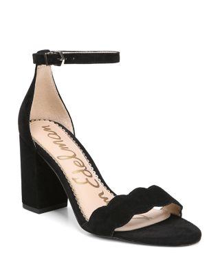 Odila Suede Block Heel Sandals