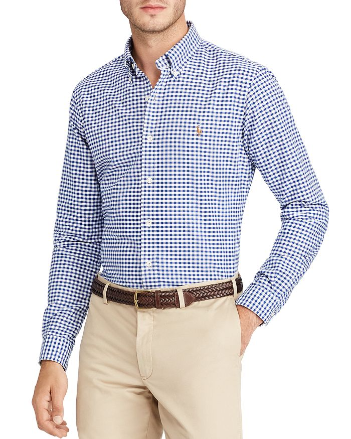 Polo Ralph Lauren - Checked Oxford Button-Down Shirt - Classic Fit