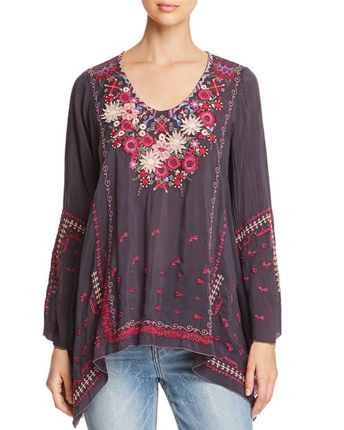 Johnny Was - Wish Stitch Embroidered Tunic