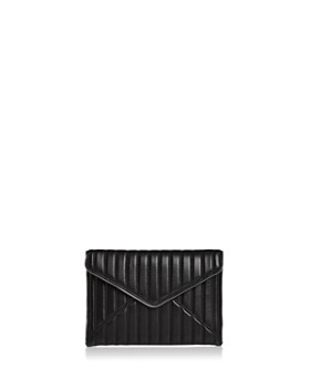 Rebecca Minkoff - Leo Quilted Leather Clutch