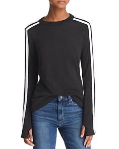 n PHILANTHROPY Caia Striped-Sleeve Tee - 100% Exclusive - Bloomingdale's_0