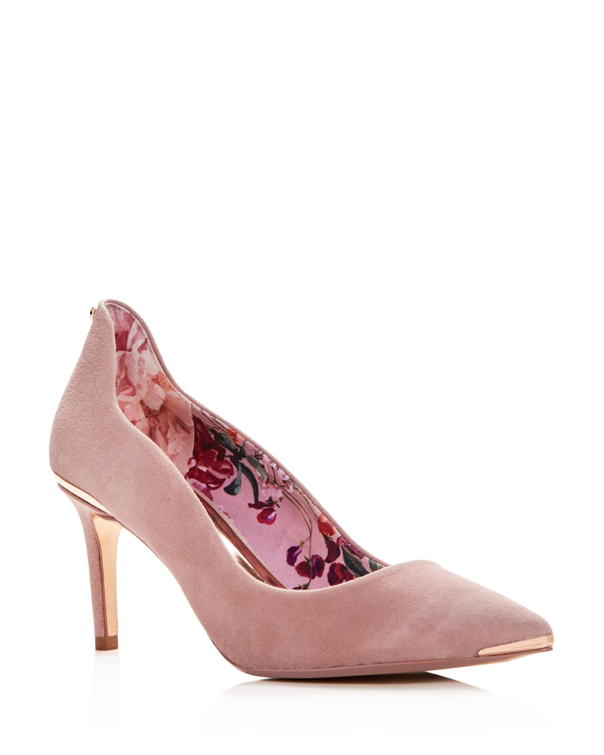 Women's Vixyns Suede Pointed Toe Pumps by Ted Baker