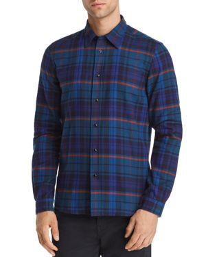 PS BY PAUL SMITH PLAID REGULAR FIT SHIRT
