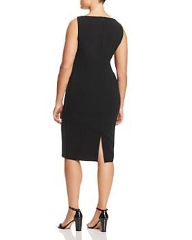 Marina Rinaldi - Duo Side Stripe Sheath Dress