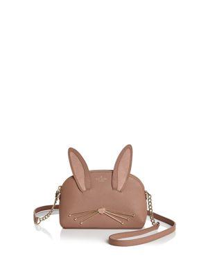 kate spade new york Hilli Rabbit Desert Muse Leather Crossbody 3004510
