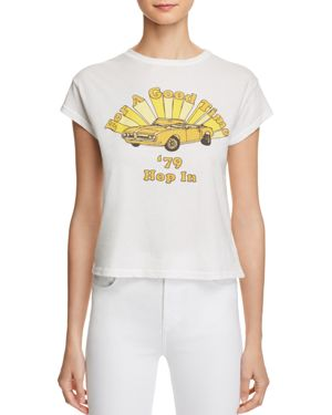 MICHELLE BY COMUNE FOR A GOOD TIME GRAPHIC TEE