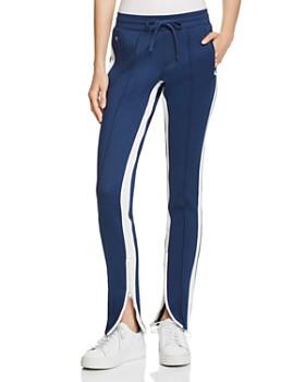 PAM & GELA - Zip-Hem Cigarette Track Pants