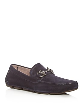 Salvatore Ferragamo - Men's Parigi Suede Moc Toe Drivers