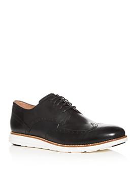 Cole Haan - Men's Original Grand Leather Brogue Wingtip Oxfords