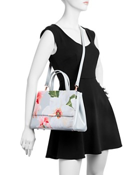 Ted Baker - Chatsworth Bloom Floral Print Embossed Tote