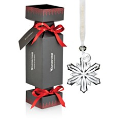 Waterford Cracker with Mini Snowflake Ornament - Bloomingdale's_0