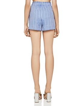 BCBGeneration - Striped Drawstring Shorts