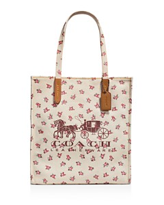 COACH - Horse & Carriage Canvas Tote