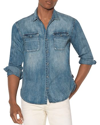 John Varvatos Star USA - Regular Fit Denim Shirt