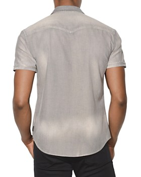 John Varvatos Star USA - Faded Short-Sleeve Button-Down Shirt
