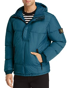 Stone Island - Hooded Pullover Down Coat - 100% Exclusive