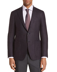 Canali - Kei Textured Solid Regular Fit Sport Coat - 100% Exclusive