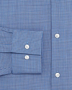 BOSS - Micro Check Slim Fit Dress Shirt