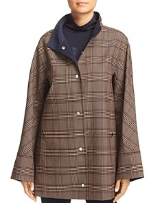 Lafayette 148 New York - Carlton Lightweight Plaid Jacket - 100% Exclusive