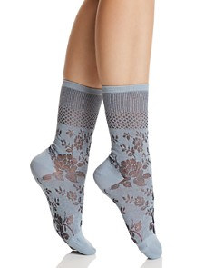 Natori Floral Fields Crew Socks - Bloomingdale's_0