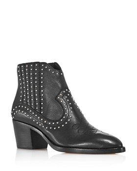 Dolce Vita - Women's Dexter Studded Leather Booties - 100% Exclusive